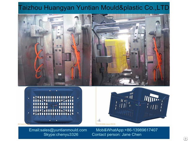 China High Quality Plastic Injection Crate Mold Manufacturer