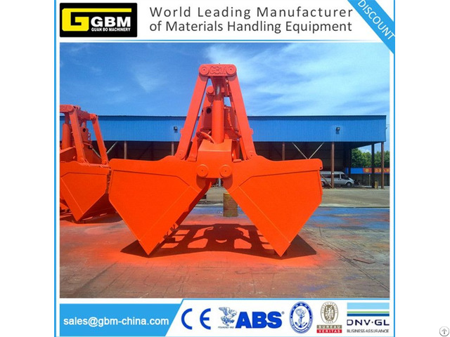 Clamshel Hydraulic Orange Peel Grab