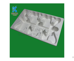 Wholesale Food Grade Paper Pulp Packaging Trays