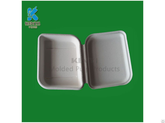 Biodegradable Fiber Molded Pulp Luxury Packaging Boxes