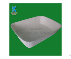 Biodegradable Pulp Molding Disposable Pet Bowl And Cat Litter Tray