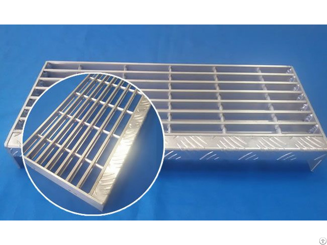 Aluminum Bar Grates Stair Tread