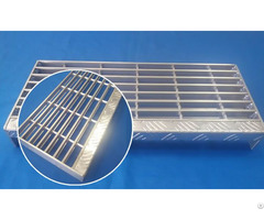 Aluminum Bar Grates Stair Tread