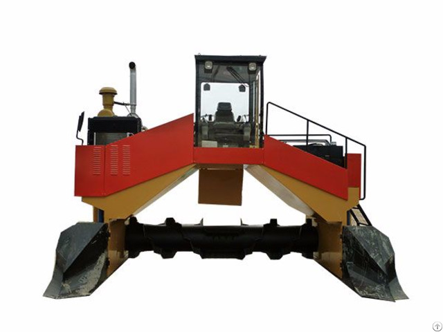 Agriculture Waste Mushroom Compost Turner With Excellent Performance
