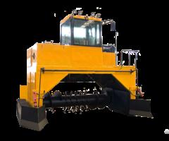 Hydraulic Auxiliary Crawler Compost Turner