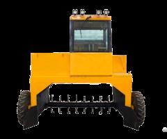 Hydraulic Auxiliary Wheel Compost Turner
