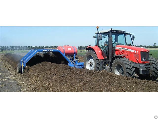 Tow Behind Compost Turners