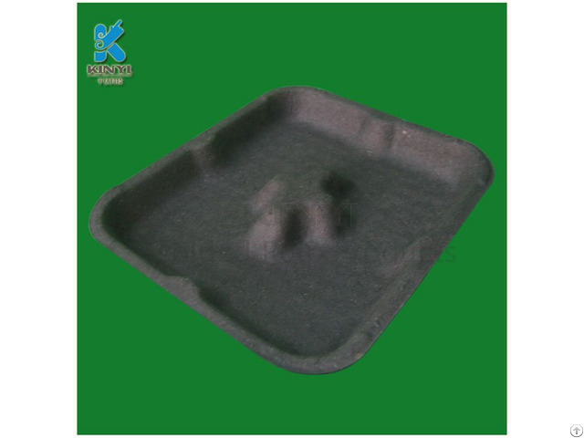 Eco Friendly Paper Pulp Packaging Tray For Vegetables