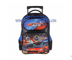 Children Hand Trolley School Bag