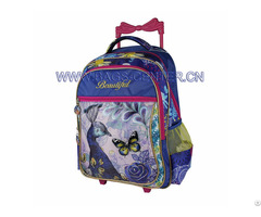 Kid Colourful Trolley Travel Bags