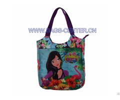 Zip Closure Tote Bag