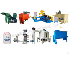 Fish Feed Production Line Pelleting Machine Manufacturers