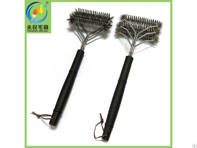 Patented Bbq Grill Cleaning Brush Barbeque Design