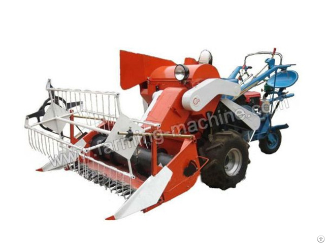 Driving Type Small Rice Harvester