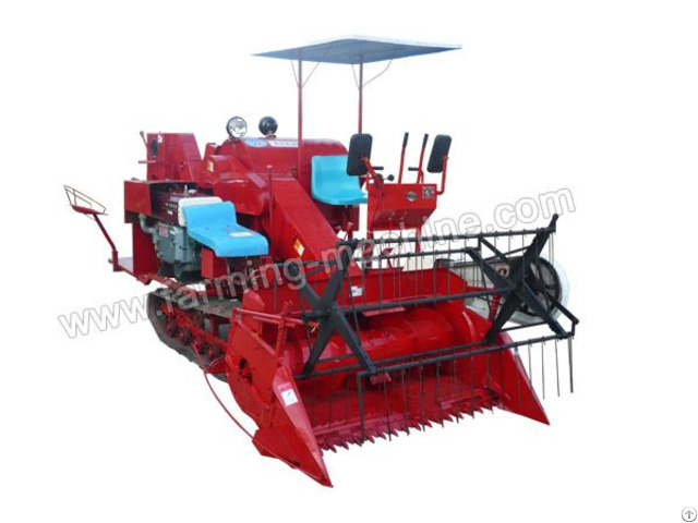 Medium Combine Paddy Harvester