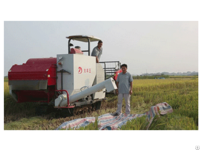 Large Rice Combine Harvester