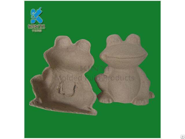 Diy Color Paper Pulp Animal Tray Eco Friendly