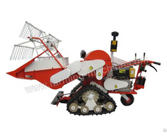 Small Rice Combine Harvester