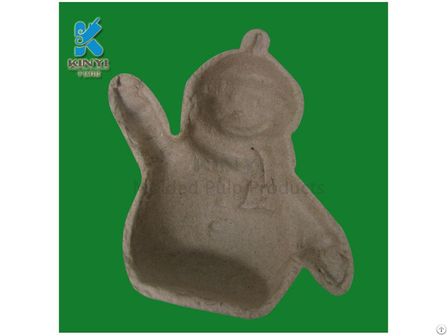 Environmental Paper Pulp Molded Tray Diy Colored Crafts