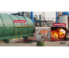 Convering Waste Tyre Into Fuel Oil Pyrolysis Plant In Macedonia