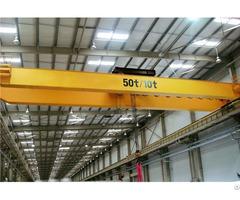 Factory Electric Travelling Double Girder Bridge Overhead Crane