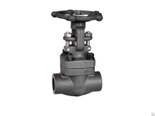 Small Diameter Forged Steel Power Plant Gate Valve
