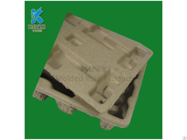 Biodegradable Utility Bamboo Fiber Pulp Lid Tray Box