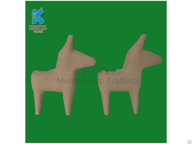 Molded Pulp Fancy Design Paper Mache Animals Crafts