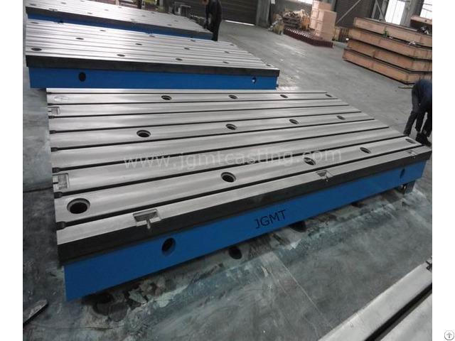 Cast Iron T Slot Floor Table