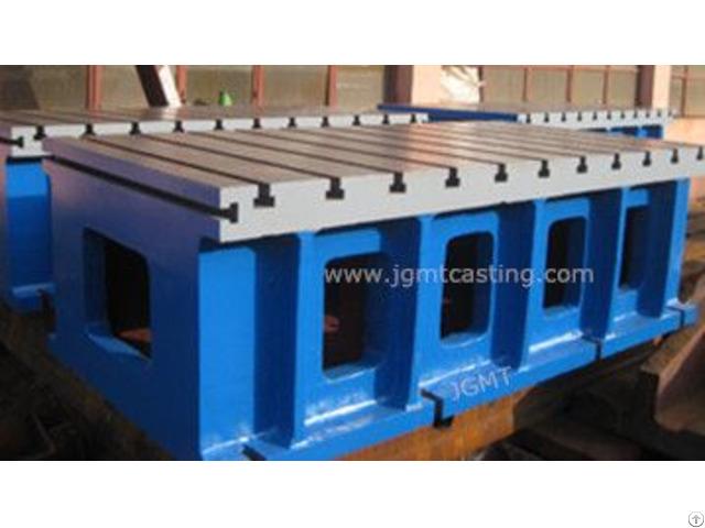 Cast Iron Box Table