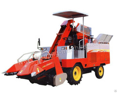Two Row Self Propelled Corn Harvester