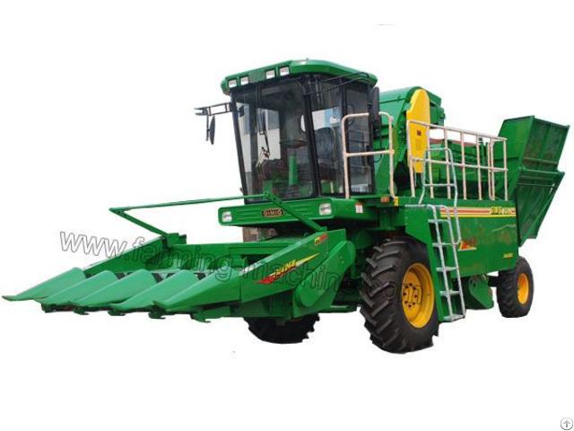 Self Propelled Corn Harvester