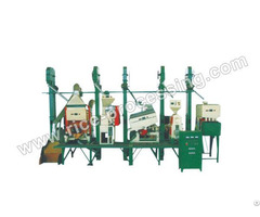 Integrated Rice Milling Equipment