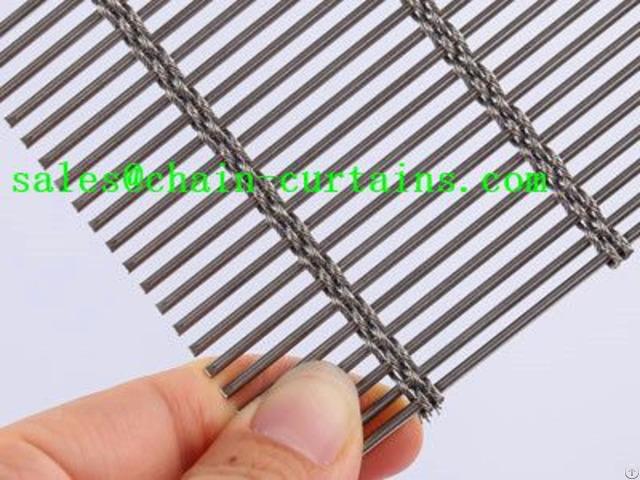 Woven Wire Drapery