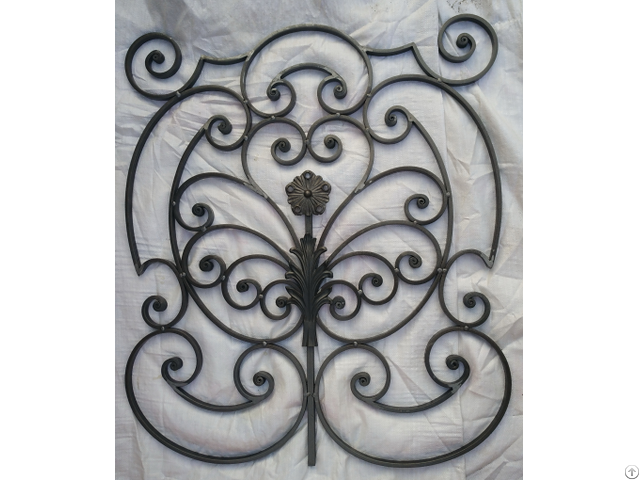 Wrought Iron Panel