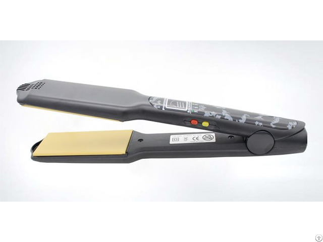 Led Ceramic Salon Equipment Flat Iron Hair Straightener