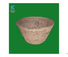 Eco Friendly Fancy Design Fiber Paper Flower Pots