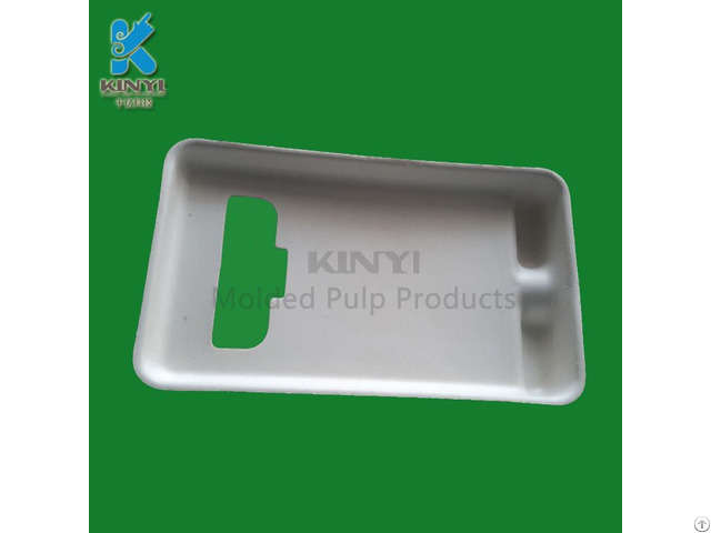 Environmental Cell Phone Packaging Tray