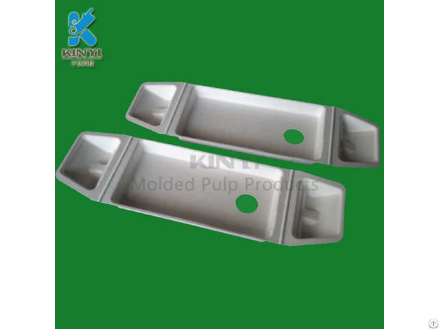 Biodegradable Electronic Paper Pulp Packaging Tray