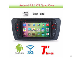 Seat Ibiza Android 5 1 Car Radio Wifi 3g Dvd Gps Apple Carplay Dab