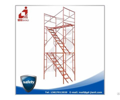 Frame System Scaffolding Kaiping,walkthrough Scaffolding,h Frame Scaffolding