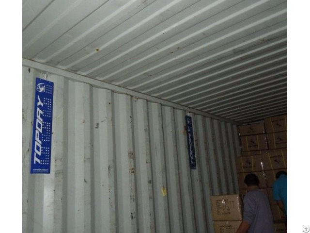 Topdry Desiccant Pole For Keeping Cargo Dry In Container