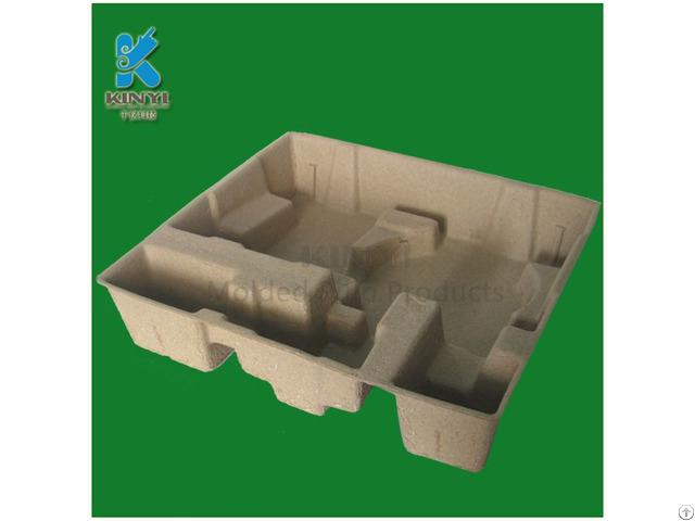 Environmental Paper Pulp Packaging Tray Electronic Protective Use