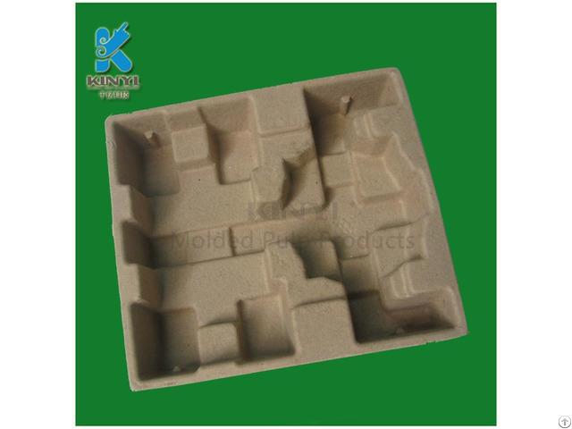 Recycled Paper Pulp Molding Electronic Packaging Tray
