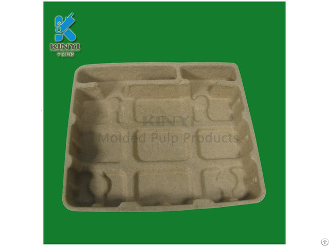 Cheap Price Paper Pulp Molding Electronic Packaging Tray