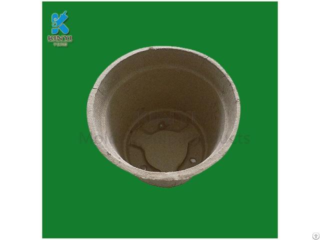 Biodegradable Dry Press Paper Pulp Garden Pots