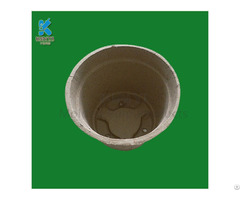 Biodegradable Dry Press Paper Pulp Garden Pots