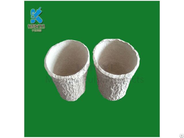 Disposable Molding Pulp Mini Flower Pot