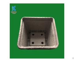 Fiber Pulp Mold Biodegradable Garden Flower Pots
