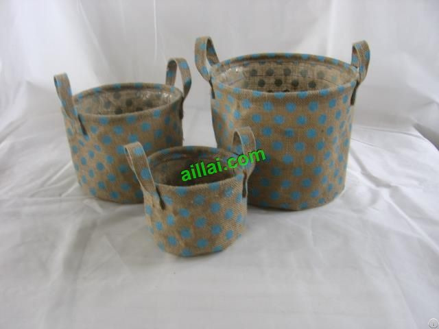 Sell Jute Flower Basket